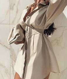 Платье-рубашка красота и универсальность в одном флаконе